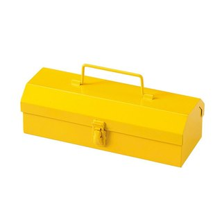 SUSS-Japan Magnets Retro Industrial Wind Toolbox/Pencil Box/Storage Box (Yellow)