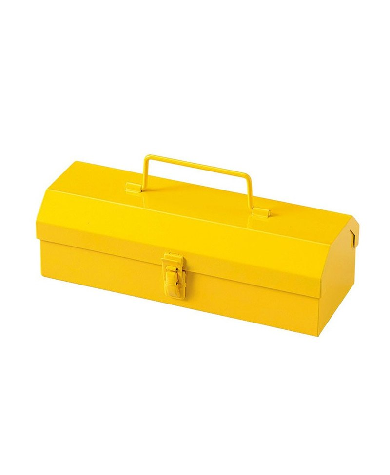 Japan Magnets Retro Industrial Style Toolbox / Pencil Box / Storage Box (Yellow)