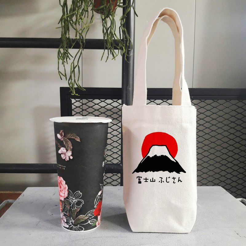 富士山#1 little cotton bag