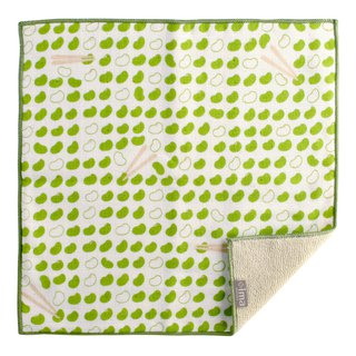 【IMA】WAFUKA Japan made Absorben, Soft, Cute & Unique Handkerchief towel - Beans