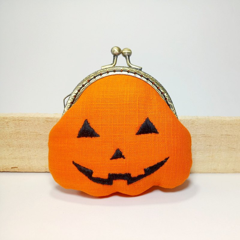 [Mr. Pumpkin] styling gold bag purse clutch bag