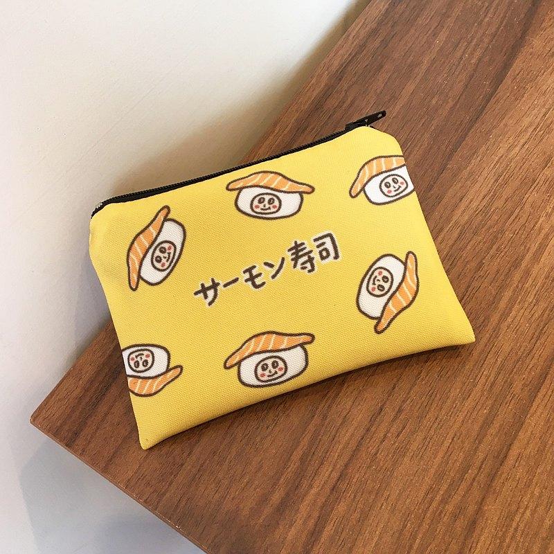 鮭魚壽司零錢包