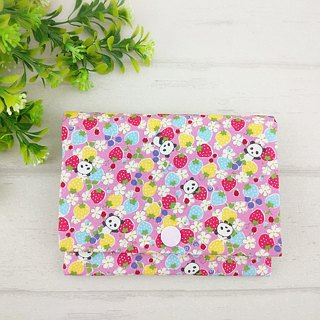 Panda Garden. Two-in-one paper bag + hygienic cotton bag (can be embroidered for free)