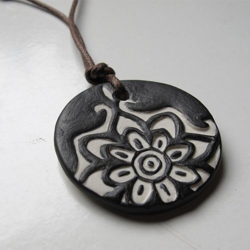 [Five Creative] - totem necklace