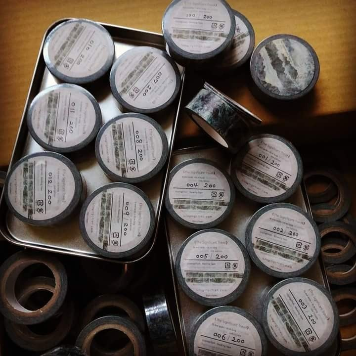 And paper tape Washi Masking Tape (US rock collection 15mm, The Significant Travel 15mm) two each ten volumes shipped free zone
