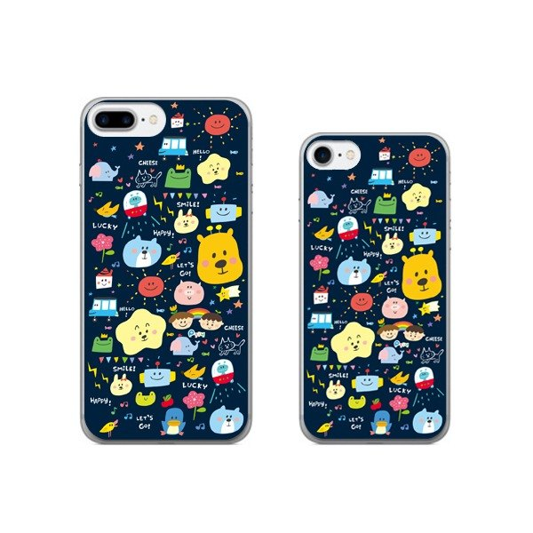 Illustrator mobile phone case iphone7/8 or Plus (Universal case _ total 5 models)