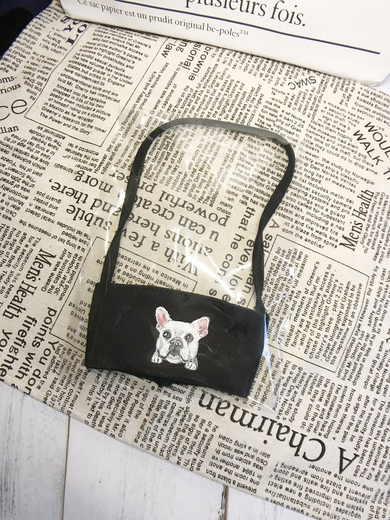|Hand-painted|Cup-type beverage bag|Black system|Customized