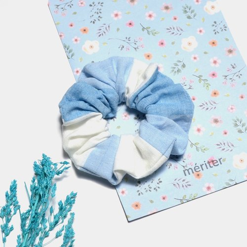 Ocean Hair Elastics Women Hair Accessories Cotton Hair Scrunchies, Colorful Hair