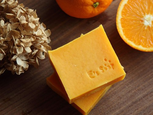 Sunshine Dance sweet orange sheep milk soap