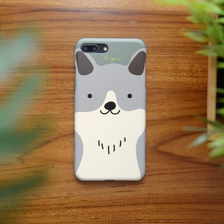 iphone case a cute smiley dog for iphone5s,6s,6s plus, 7,7+, 8, 8+,iphone x