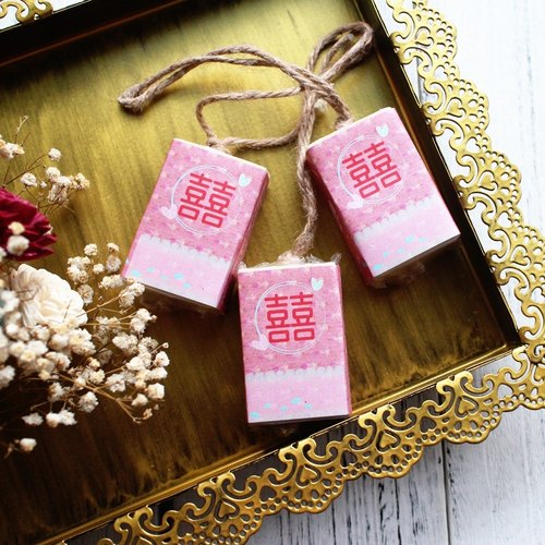 [Lei Anbai hand soap Happiness favorites] Soap - Soap bis particles 10 into the group. Wedding was small hand soap string │ │ │ corporate gifts │ natural handmade soap activities of small things