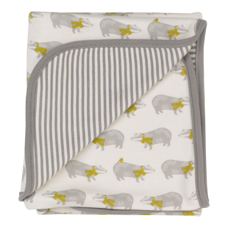 100% organic cotton cute baby bag towel British brand