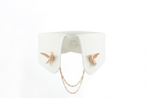 Humming Bird Magnetic Clip- pink gold