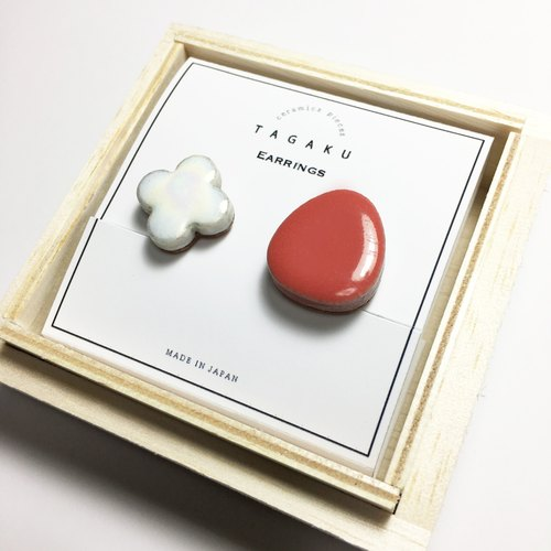 TGE-127 Ceramic tile earring