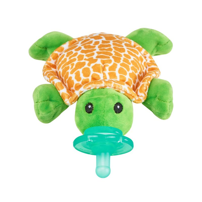 American nookums baby cute shape rattle pacifier / doll-Little Man Turtle