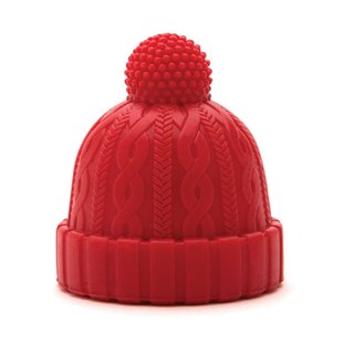 Beanie - Bottle Stopper - Red