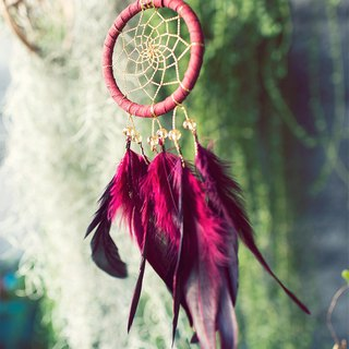 Dream Catcher 8cm - Red Gold (exclusive design) - Christmas gifts, exchange gifts
