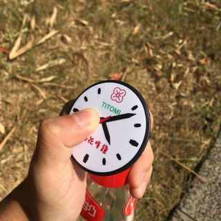 Hong Kong Bottle Opener | Clock