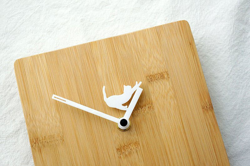 Stretching Cat | Wall Clock