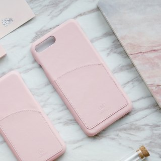 Exquisite | Genuine Leather Case with Pocket for iPhone 7/8 Plus
