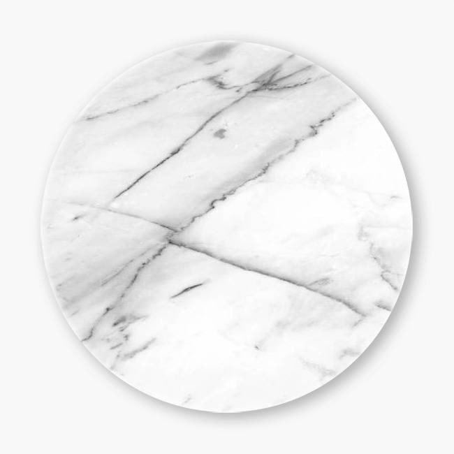 Snupped Ceramic Coaster - Marble V