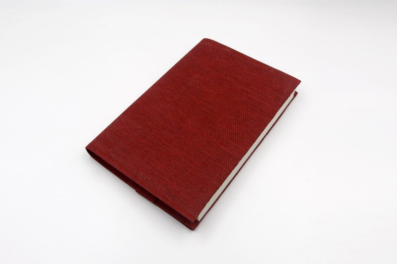 [Paper cloth home] book cover, book clothing (Geely Red)