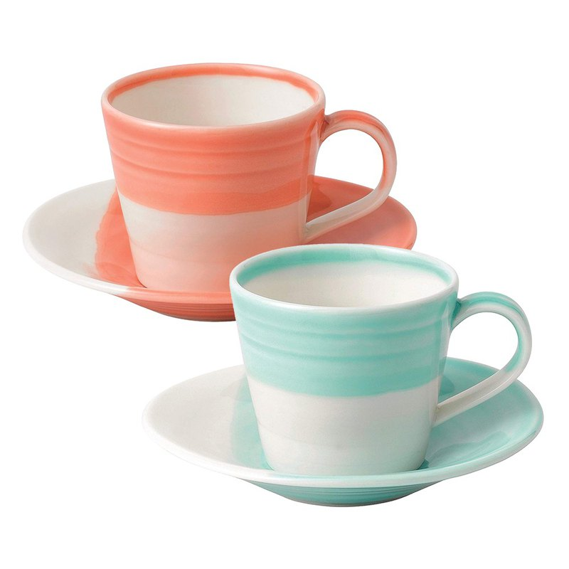 Royal Dalton 1815 Constant mining series espresso coffee cup set in two colors
