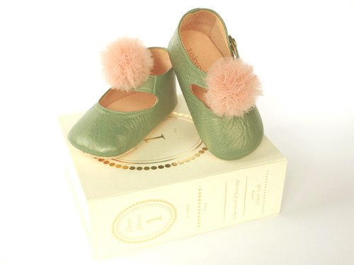 shoes album 1 - Green (baby shoes)