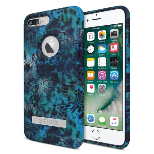迷彩聯名保護殼/手機殼 for iPhone 7 Plus/8 Plus-巨浪海神-SURFACE x KRYPTEK 系列