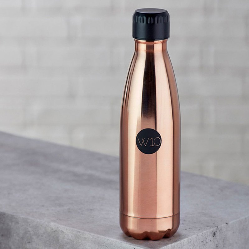 Double stainless steel thermos - rose gold