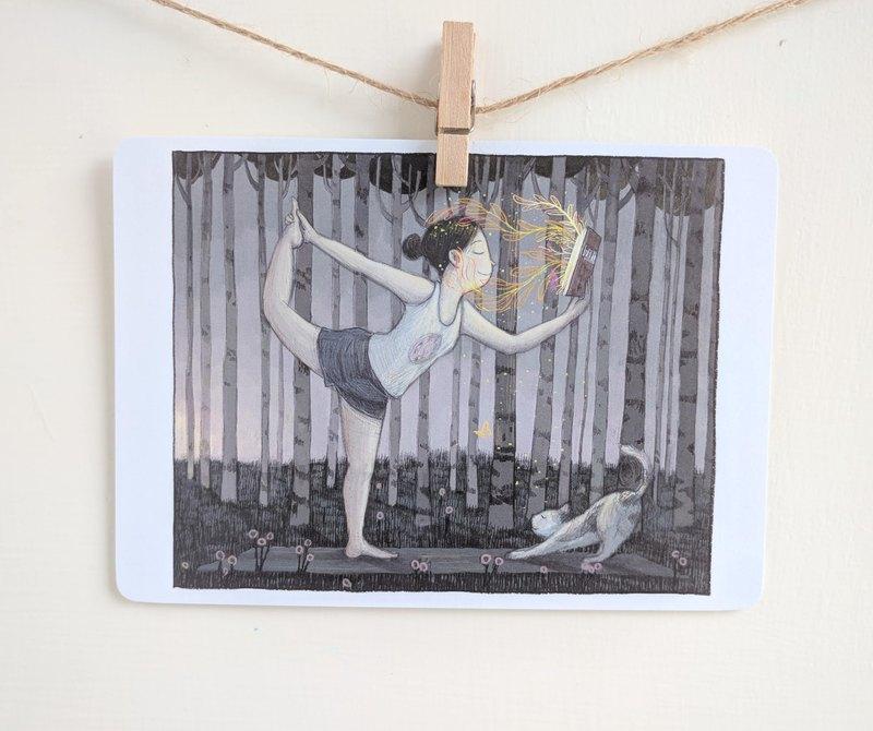 森林 / 明信片