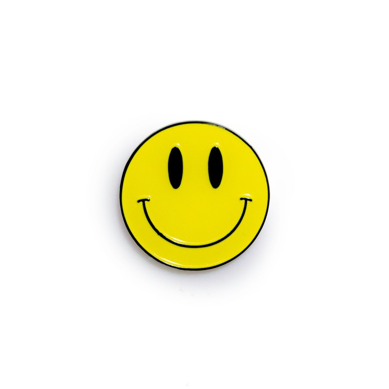 Happy Emoji Pin