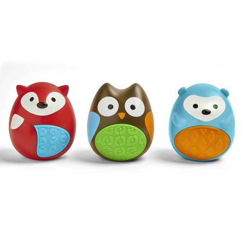 The United States Skip Hop Discovery Series - egg rattle three pieces