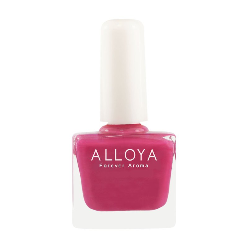 Water-based non-toxic finger color 010 rose red / durable + quick-drying