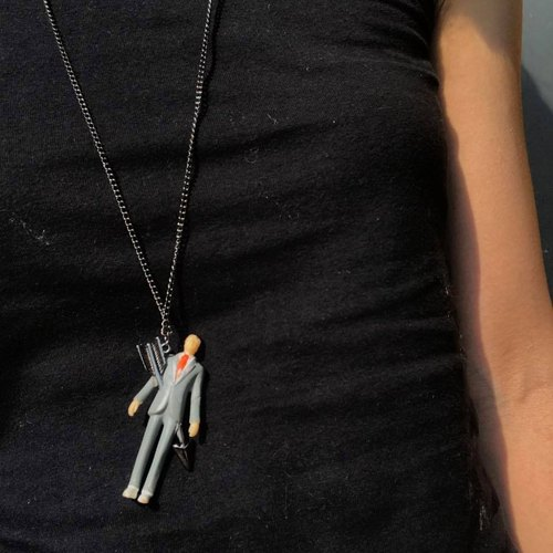 【Lost And Find】Playful kill your boss necklace