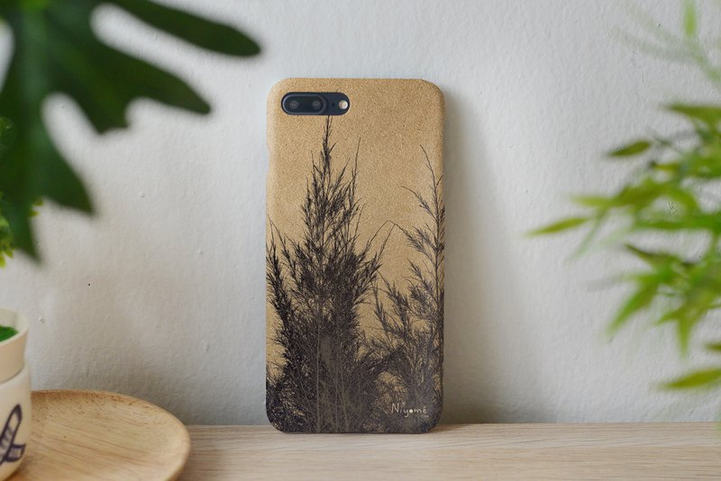 41-1 natural pine tree iphone case for iphone 6,7,8, iphone xs, iphone xs max