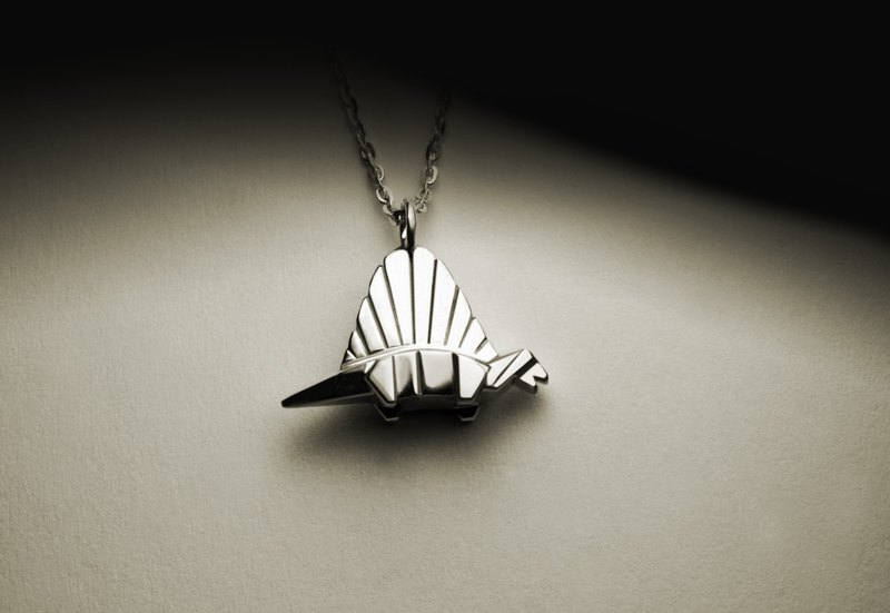 Xiaofan Dragon Origami Necklace