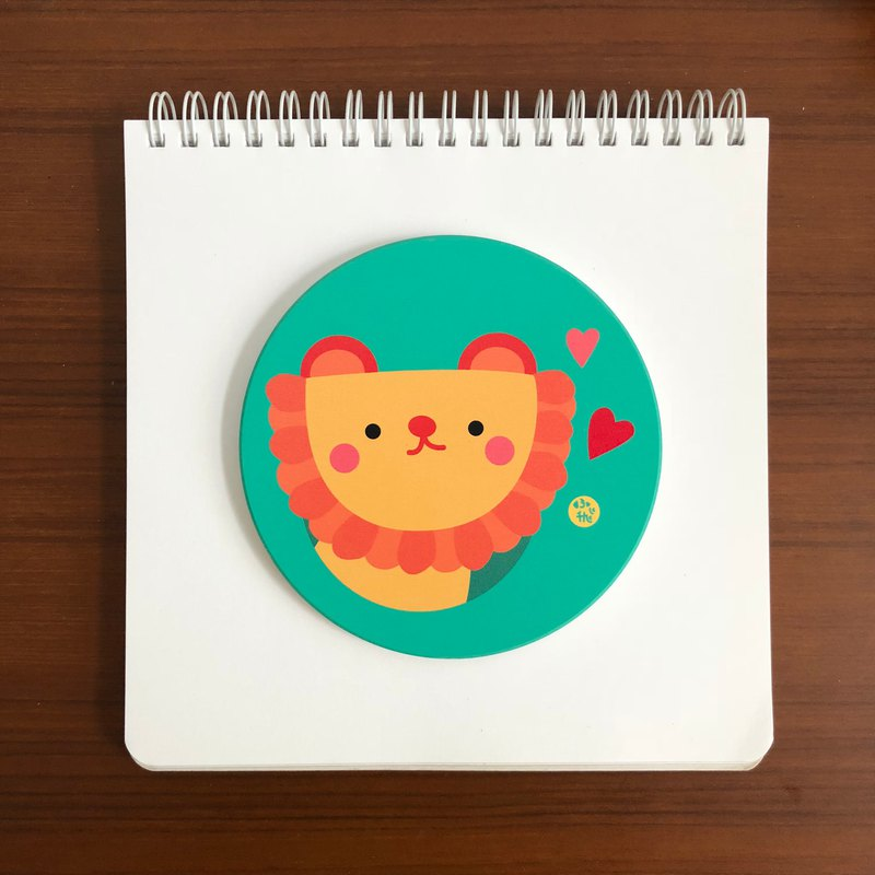 Feibi ceramic water coaster 05 lion