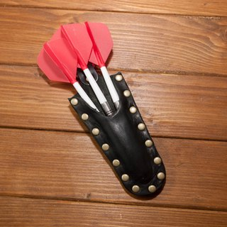 Electronic dart leather hand-made vegetable tanned leather