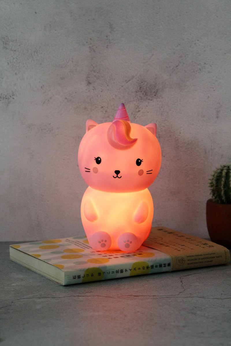 SUSS-UK imported fun shape cute LED night light (unicorn cat style)