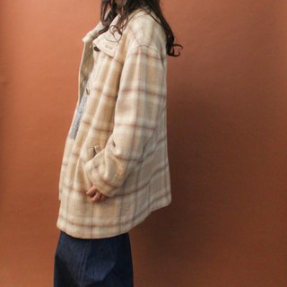 Vintage Autumn and Winter Mikaqi Pattern Loose Vintage Coats Vintage Outer