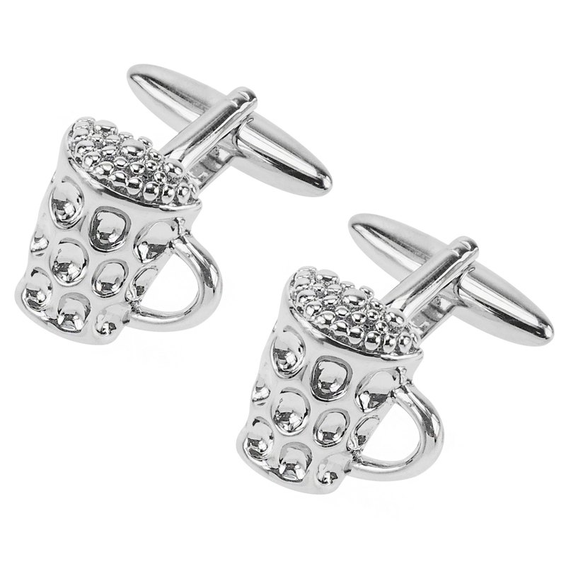 Novelty Beer Glass Cufflinks