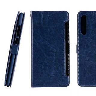 CASE SHOP HUAWEI P20 Pro front storage side holster - blue (4716779659634)