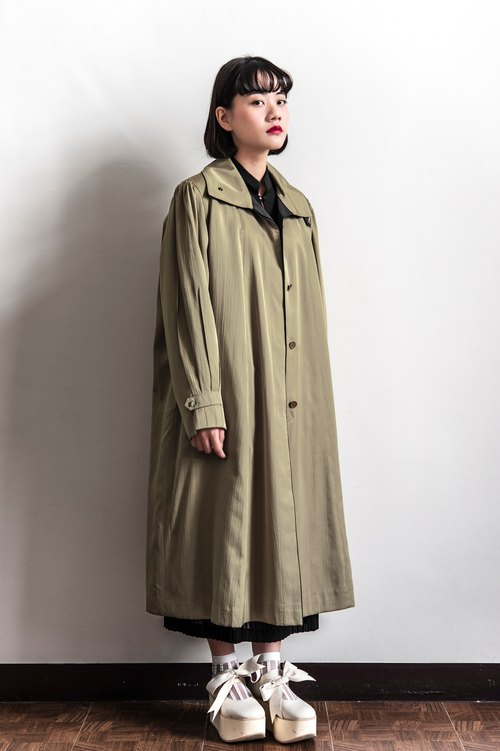 Vintage dead leaves vintage coat coat