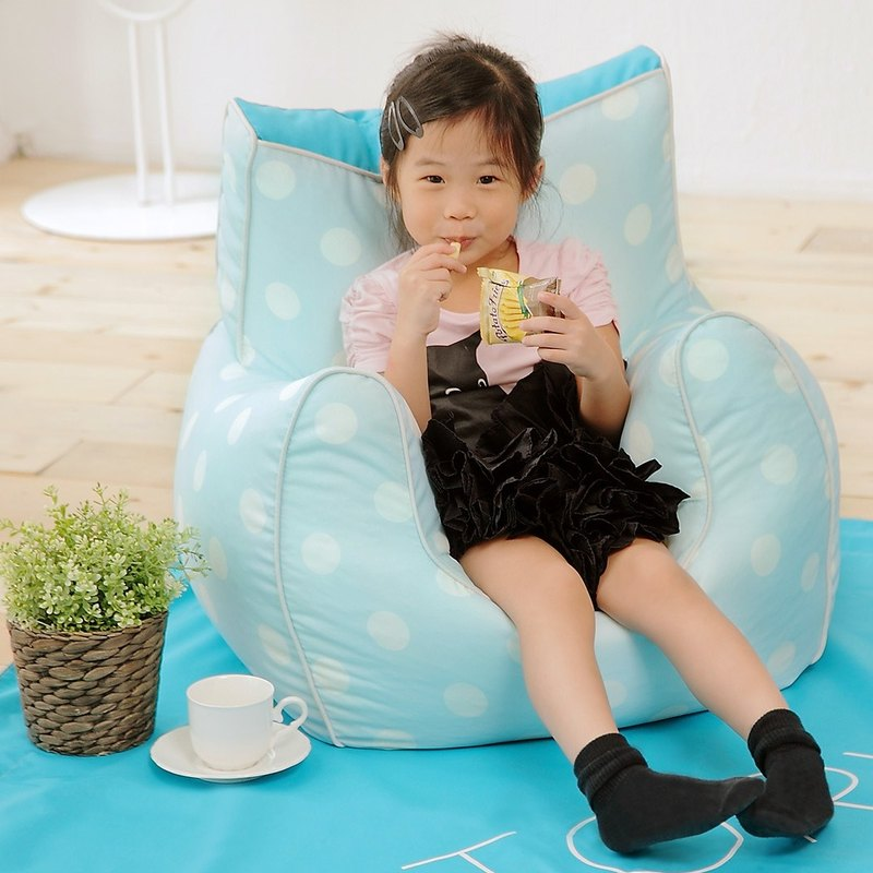 Lazy Bone Mini Sofa. Bébé blue (50% discount on purchase)