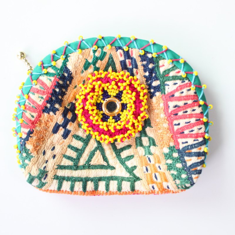 Indian Embroidery Pouch