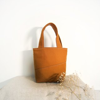 Handmade Lightweight Handbag - Caramel Brown