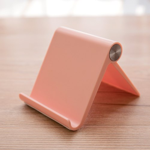 Mobile phone / tablet desktop multi-angle bracket - 漾 color powder