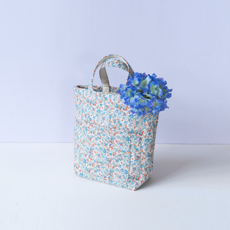 Bag Day | Hyacinth Japanese Flower Cloth. Thick Pound Tote. Tote Bag. Flower Gift. Elegant Walk