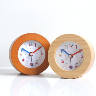 Wood Creative Number  Alarm Clock